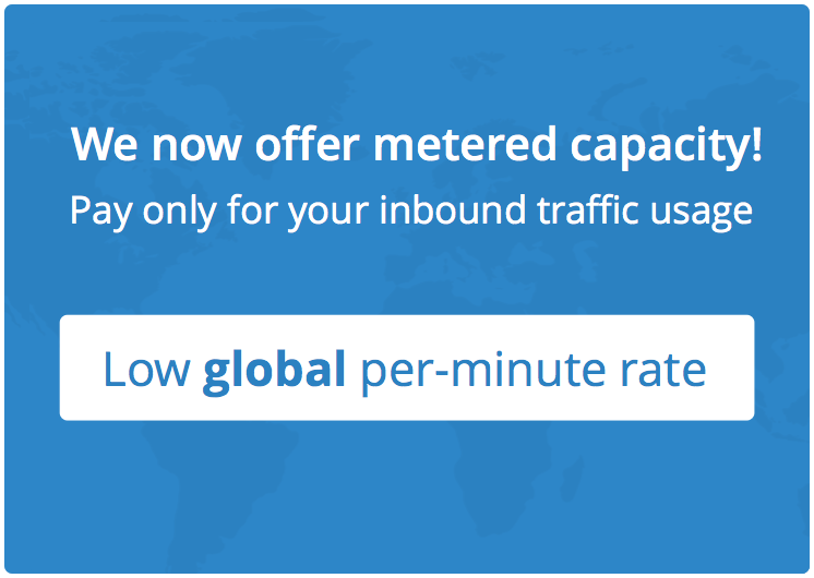 we now offer metered capacity