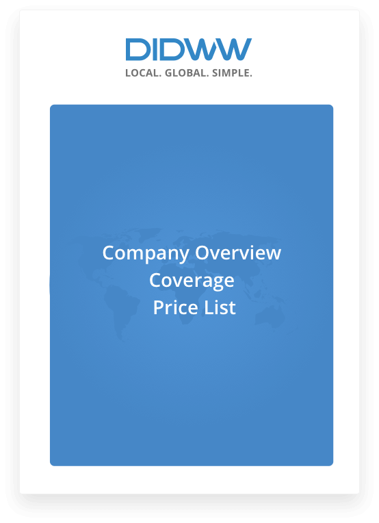 Download Service Coverage and Price List – Price List